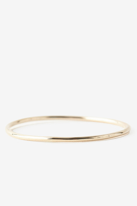 Kristen Elspeth 14K Gold Thread Ring