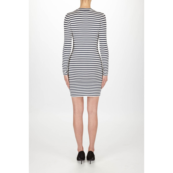 "Just Female ""Kath"" Nautical Striped Jersey Dress"