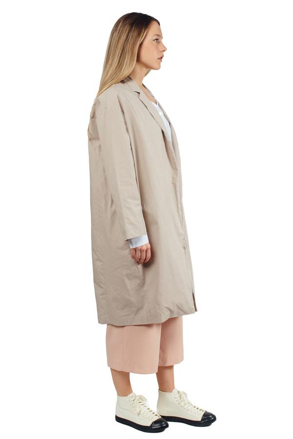 WU+SEN Siine Coat Khaki