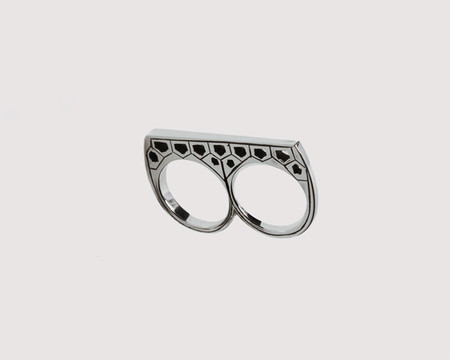 Lacar Double Mosaic Ring