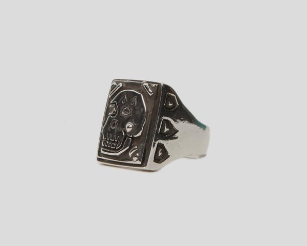 Men's Lacar Skull Ring