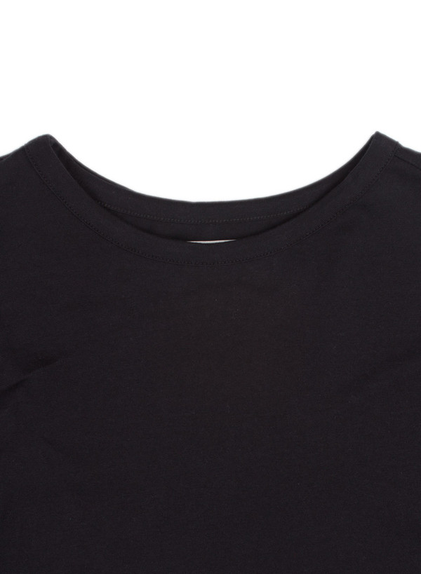 Men's Public School Asymmetrical Back T-Shirt Black