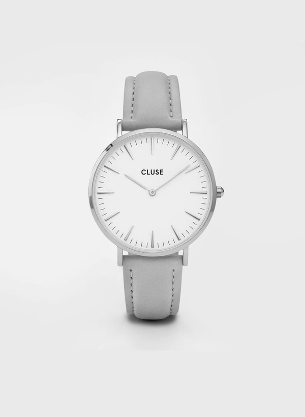 Cluse La Boheme Silver Watch Grey