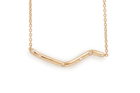 Shahla Karimi Subway Fine Necklace - Central Park to City Hall