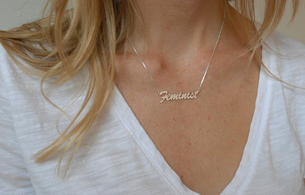 "BNN ""Feminist"" Necklace"