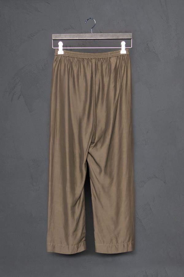 Roque Silk Asymmetrical Front Pants