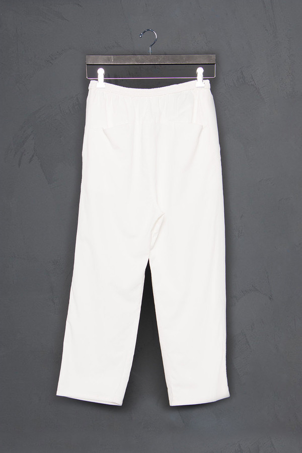 Roque Cropped Drop Crotch Pants