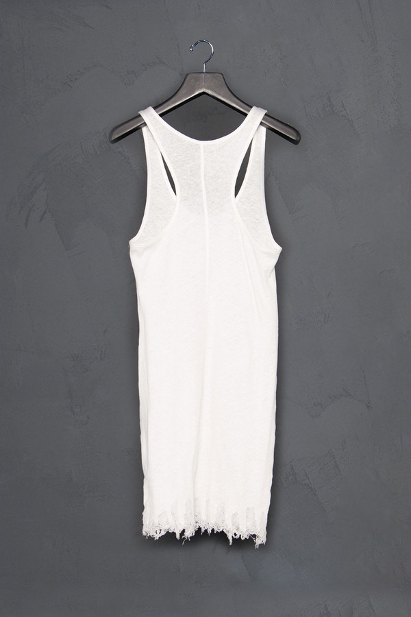 Thom / Krom Racer Tank with Drop Stitch Hem