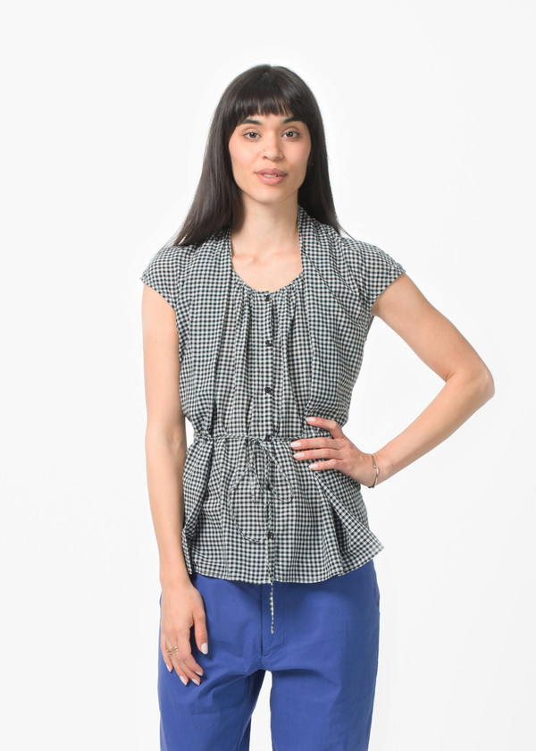 Manuelle Guibal Check Top