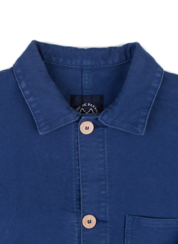 Men's Bleu De Paname Veste De Comptoir Bleuet