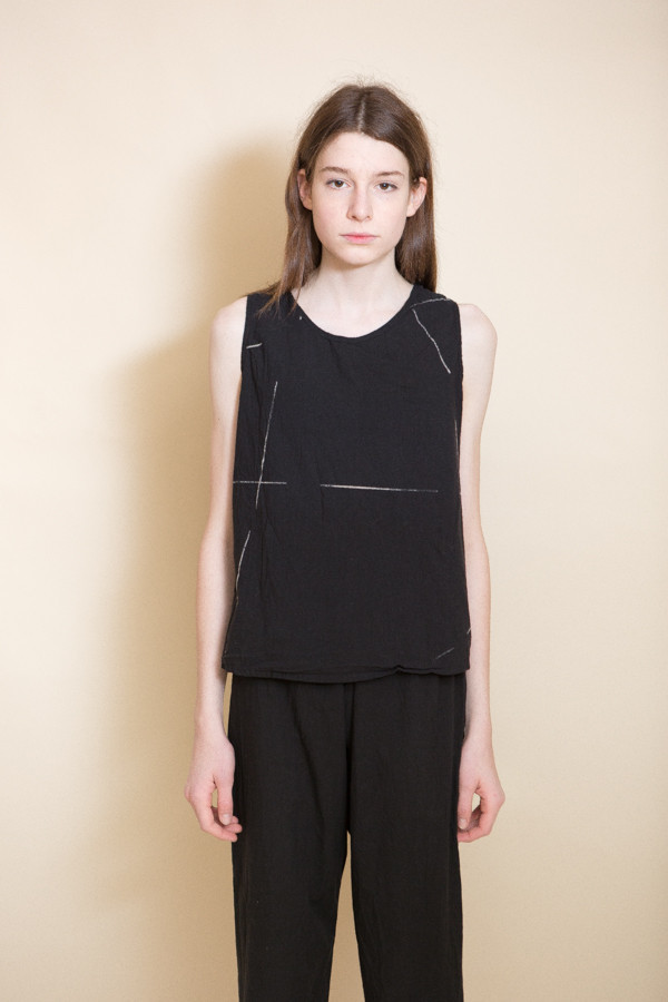 Uzi NYC Beams Tank / Black