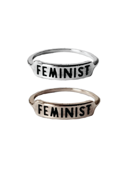 Redwolf Feminist Ring
