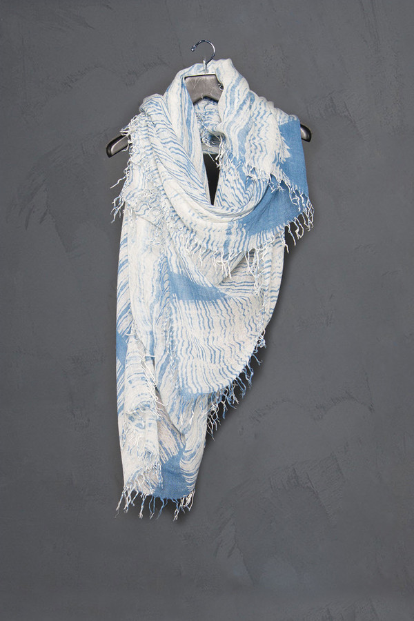 Chan Luu Waves Scarf