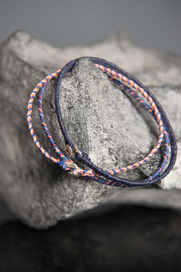 Scosha Circle Black Diamond Button Bracelet