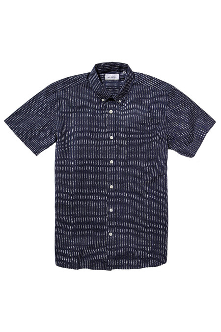 Men's Saturdays Surf NYC Esquina Stipple | Navy