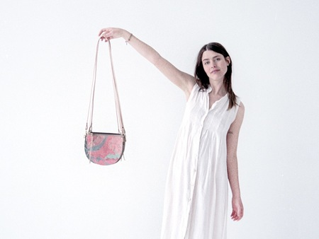 Scout & Catalogue LUNA PURSE - CREAMSICLE MARBLE