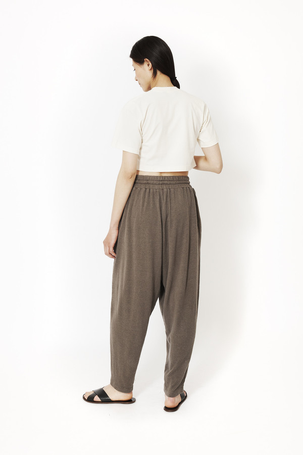 Black Crane Jersey Pant