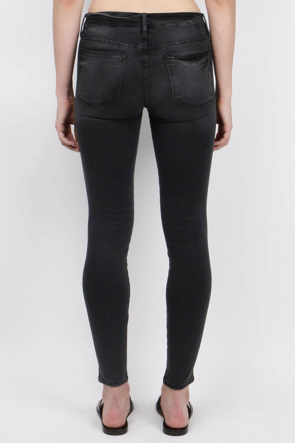 FRAME Denim Le High Skinny Preston