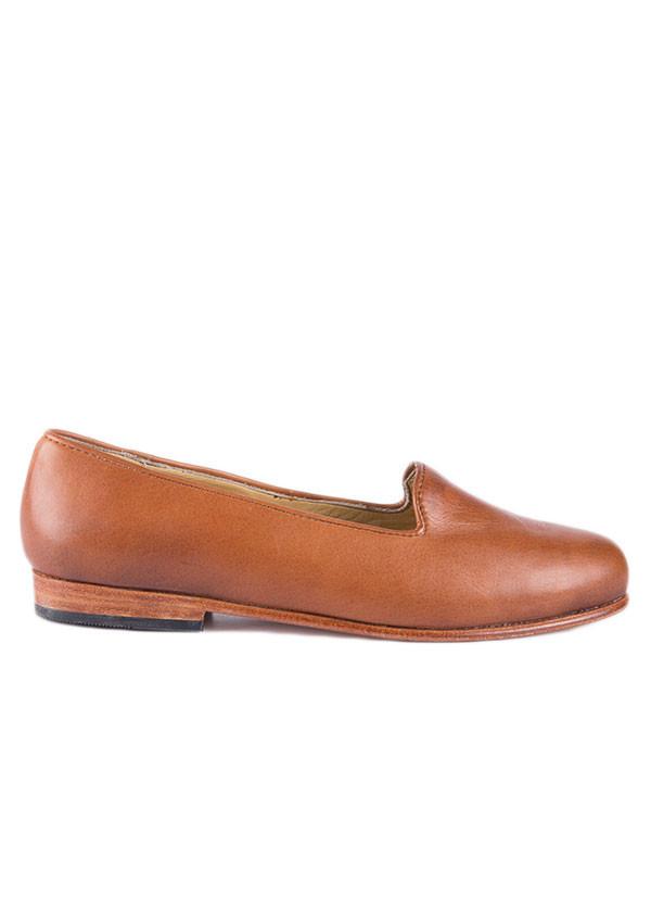 Nisolo - The Smoking Shoe in Caramel