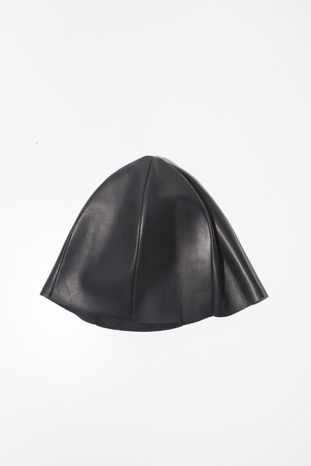 Gabriela Coll Garments Napa Leather No. 6 Hat