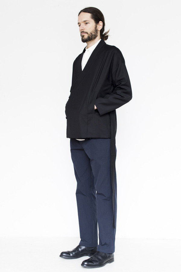 Tom Wood Tencel Kimono Jacket