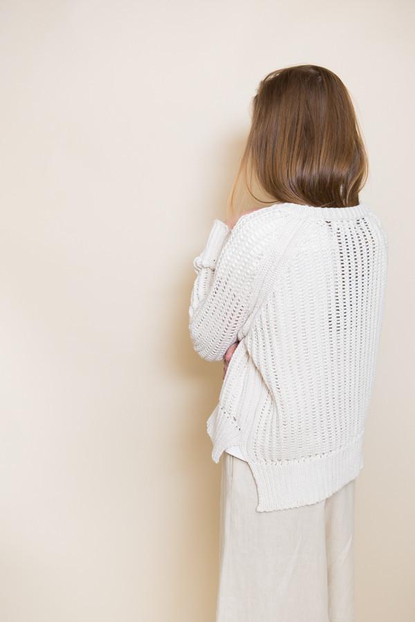 Micaela Greg Chain Sweater