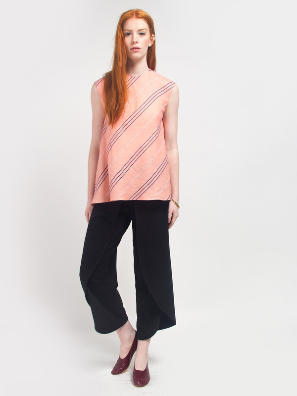 CF Goldman Sleeveless Woven Top
