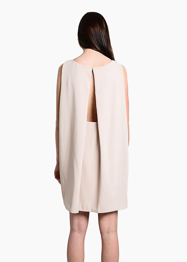 Kaarem - Tyh.d Boatneck Open Back Dress
