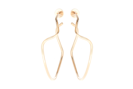Shahla Karimi Subway Series Hoop Earrings - Inwood to World Trade Center