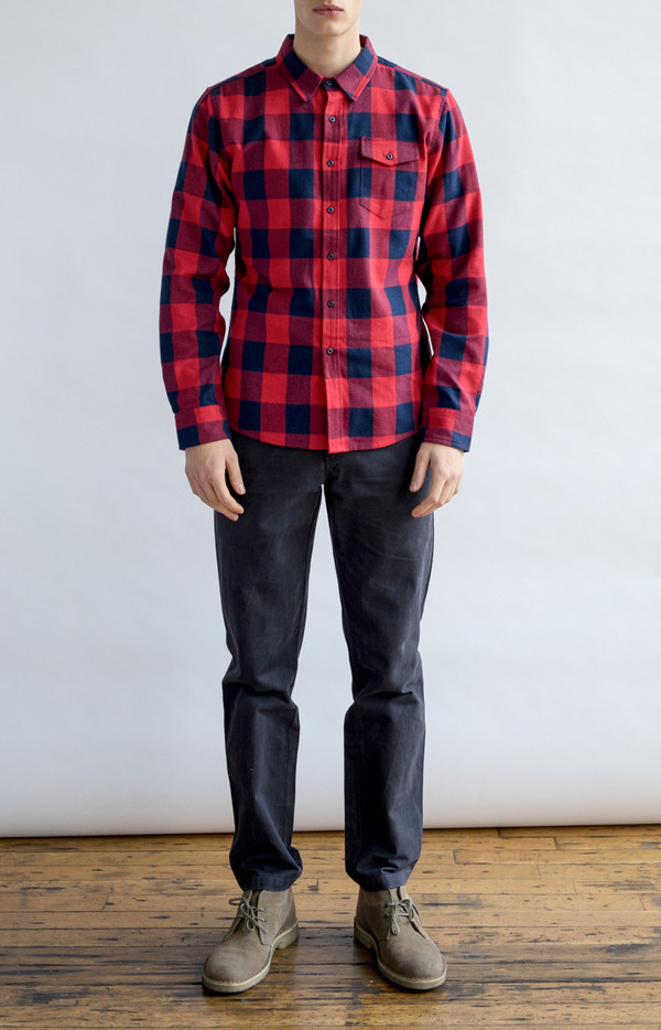 Men's Bridge & Burn Clinton Buffalo Plaid