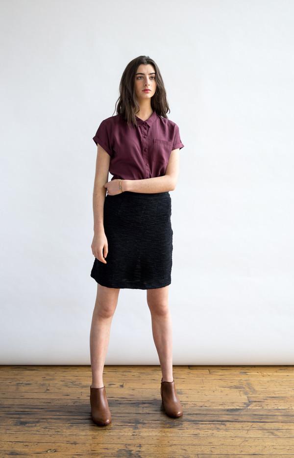 Bridge & Burn Edith Black Skirt