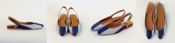 The Palatines paro pointed slingback