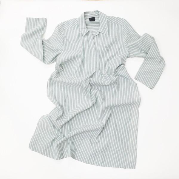 Sherie Muijs Shirt No. 11 - Stripe Linen