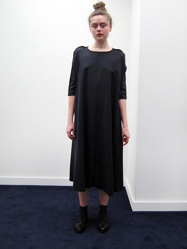 Alexa Stark Oversized Tent Dress | Black