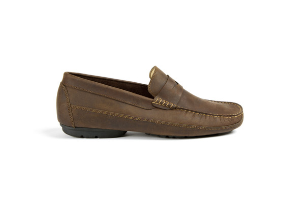 Mens Nisolo Moreno Loafer Driftwood