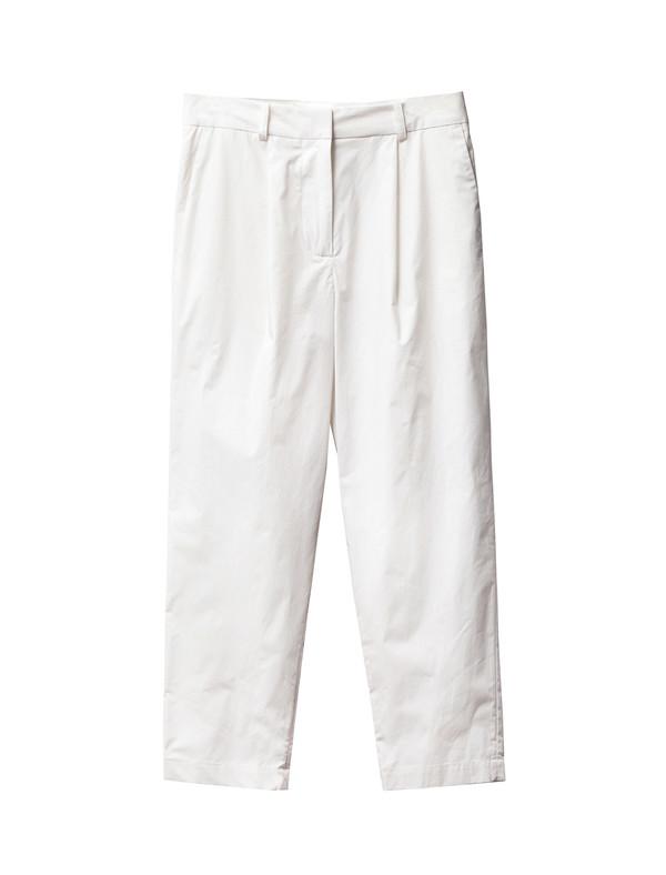 Acne Studios Onno Poplin Trouser Natural