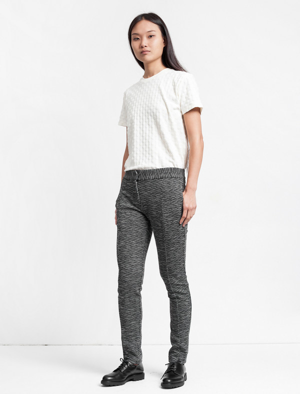 Thakoon Addition Slim Pant Black and White