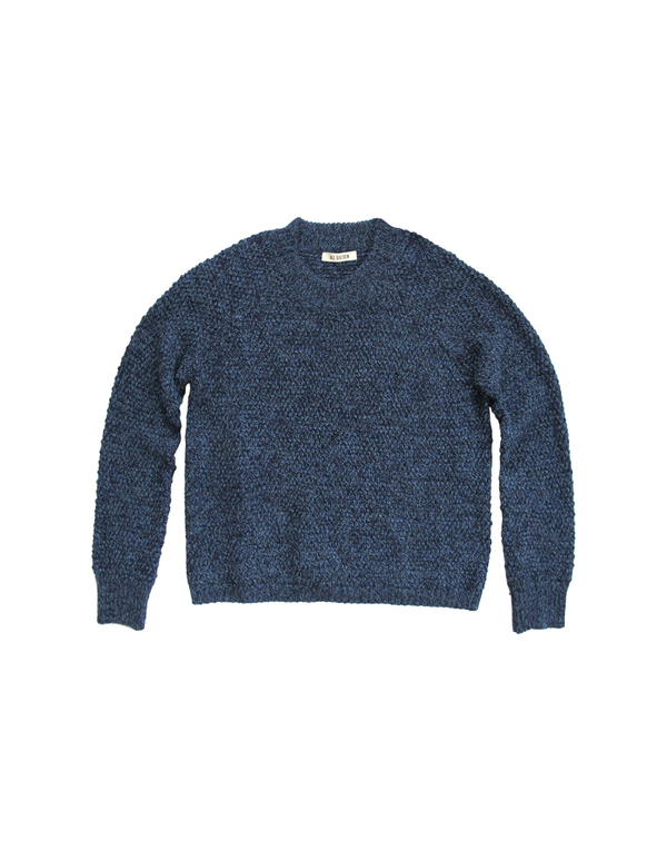 ALI GOLDEN PULLOVER SWEATER - BLUE