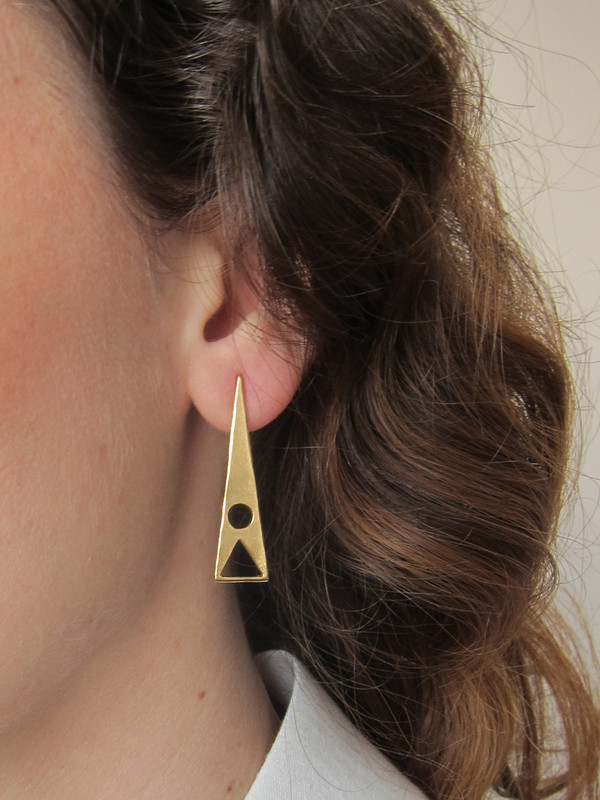 Alynne Lavigne Reverse Earrings