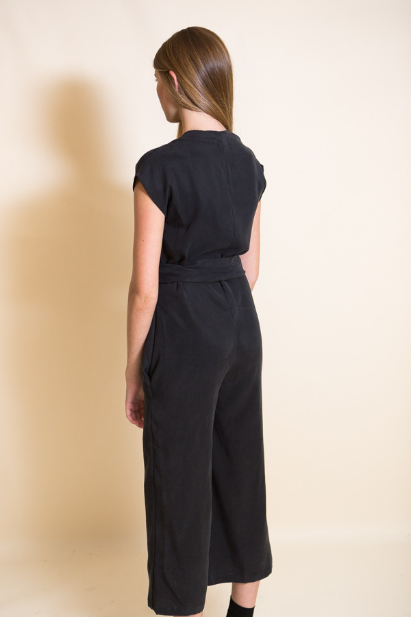 Lauren Winter Wraparound Jumpsuit