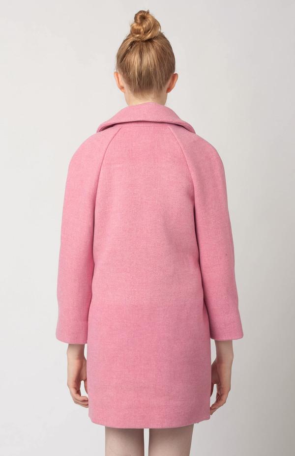 YMC Cocoon Coat Pink