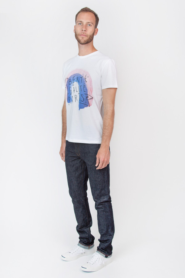 Men's Commune de Paris Devise Tee