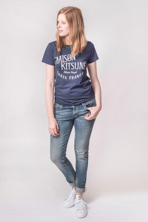 Earnest Sewn Jane Midrise Skinny Jean Nashville Blue