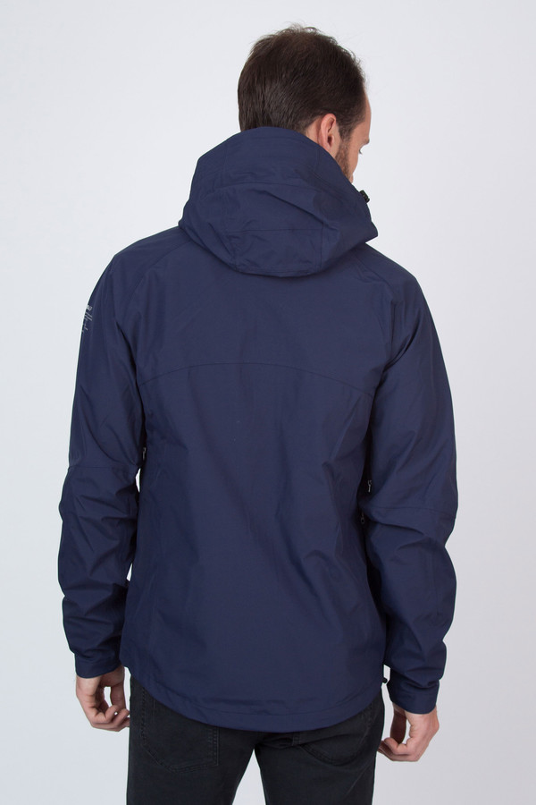 Men's Ecoalf Kilamanjaro Sealed Windbreaker Ink Blue