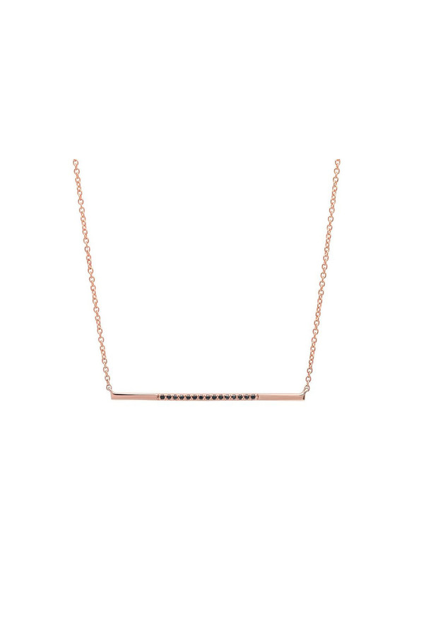 Sachi Jewelry Segment Bar Necklace