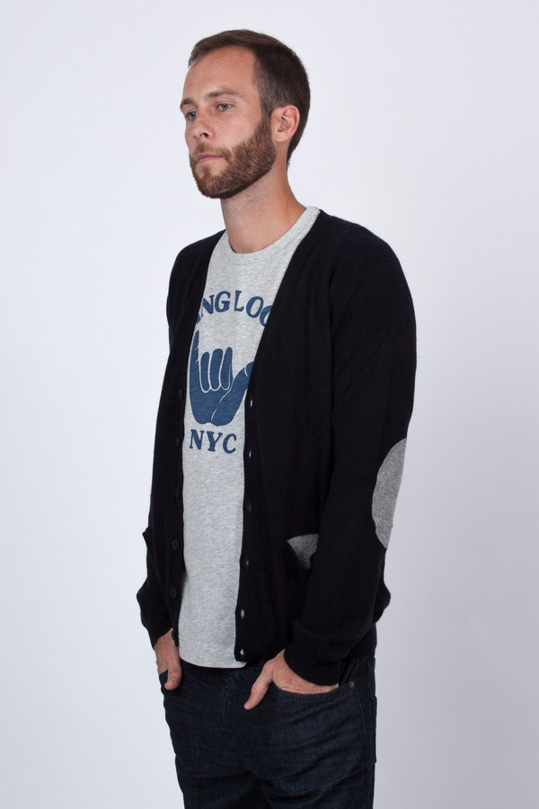 Men's Chinti and Parker Two Tone Cardigan
