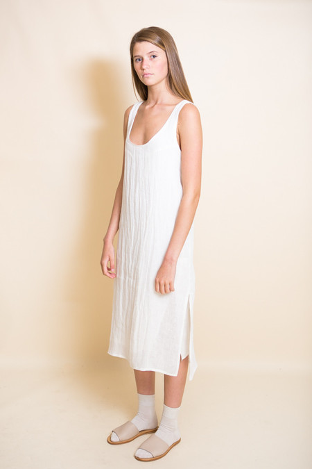 Ursa Minor Chaouen Dress / Ivory Linen