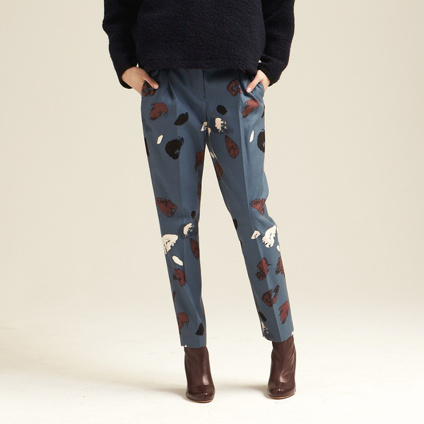 Nikki Chasin Otis Classic Abstract Trouser