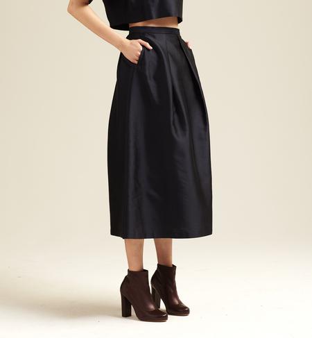 Nikki Chasin Chase Classic Fete Skirt - Dark Navy