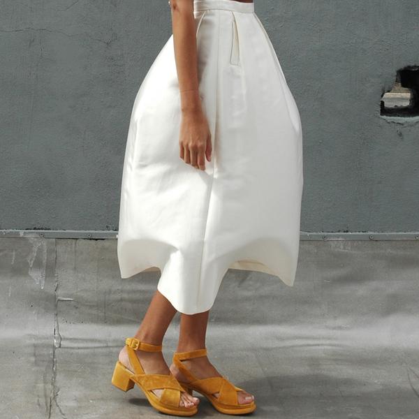 Nikki Chasin Chase Classic Fete Skirt - Ivory